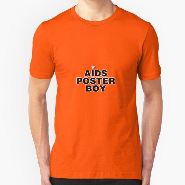 AIDS Poster Boy Slim Fit T-Shirt