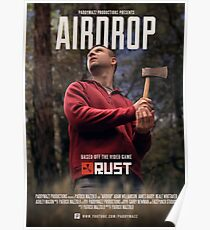 Airdrop - Rust Short Film Poster Poster