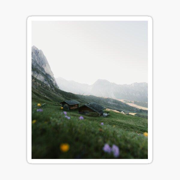 Italian mountain scenery Sticker