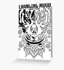 Changing Mood Greeting Card