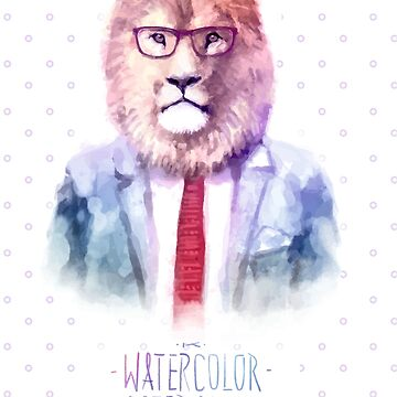 Hipster Lion by traumfaenger