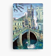 All Saints Church, Leamington Spa Canvas Print