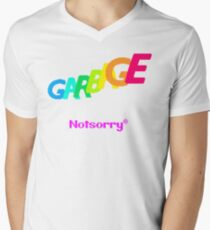 GARBAGE Men's V-Neck T-Shirt