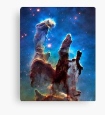 Eagle Nebula (aka Pillars of Creation) Canvas Print