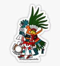 Pegatina Arte azteca: Huitzilopochtli