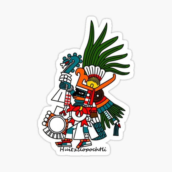 Aztec Art: Huitzilopochtli Sticker