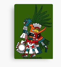 Aztec Art: Huitzilopochtli Canvas Print