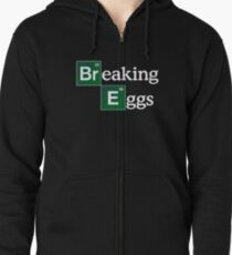 Breaking Eggs Zipped Hoodie