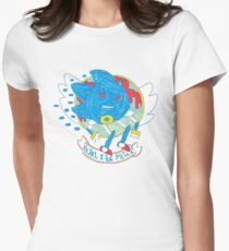 PEDAL 2 THE METAL! Women's Fitted T-Shirt