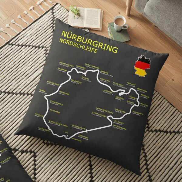 The Nurburgring Floor Pillow