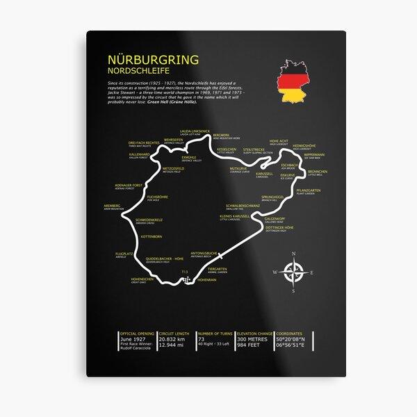 The Nurburgring Metal Print