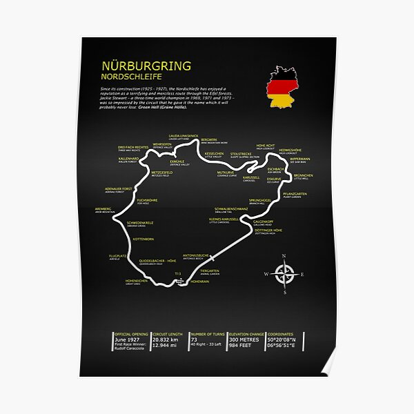 Le Nurburgring Poster