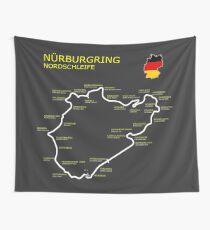 Der Nürburgring Wandbehang