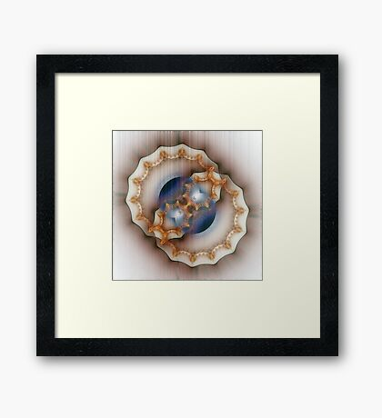 The Weight of The Soul Framed Print