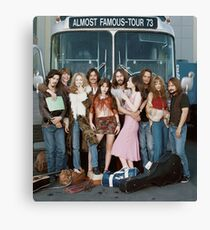 almost famous group shot Canvas Print