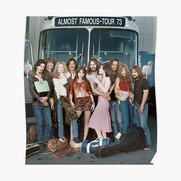 almost famous group shot Poster