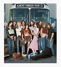 almost famous group shot Photographic Print