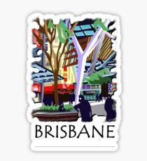 Queen St Mall, Brisbane Sticker
