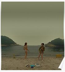 moonrise kingdom - beach dance Poster