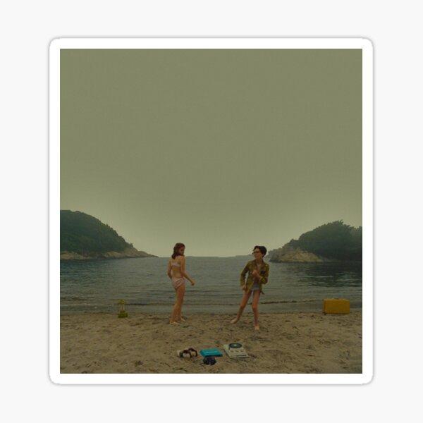 moonrise kingdom - beach dance Sticker
