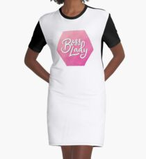 Boss Lady (Skript) T-Shirt Kleid