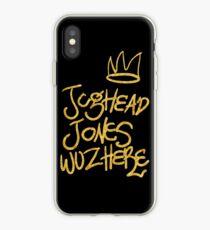Vinilo o funda para iPhone Jughead Jones estuvo aquí (Riverdale)