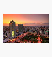 Warsaw NW Photographic Print