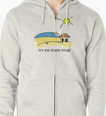 Simple Things - Surf Shack Zipped Hoodie