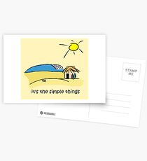 Simple Things - Surf Shack Postcards
