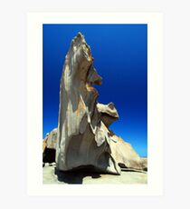 Remarkable Rocks Art Print