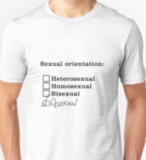 Sexual Orientation: Asexual T-Shirt