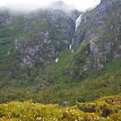 Waterfall from the Clouds by Gethin