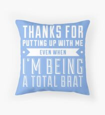 Valentine's Day Card Throw Pillow