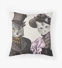 The Owl and the Pussycat Floor Pillow