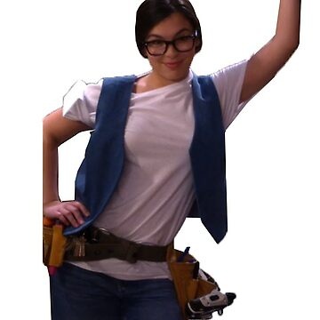 Elena Alvarez as a handyman - One Day at a Time by tziggles