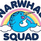 Narwhal Squad by DetourShirts