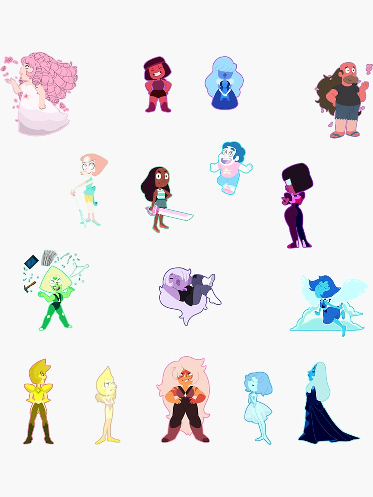 All them Universe Stickers by number36