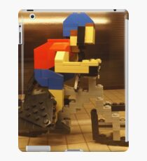Lego Bicyclist, Lego Store Rockefeller Center, New York City  iPad Case/Skin