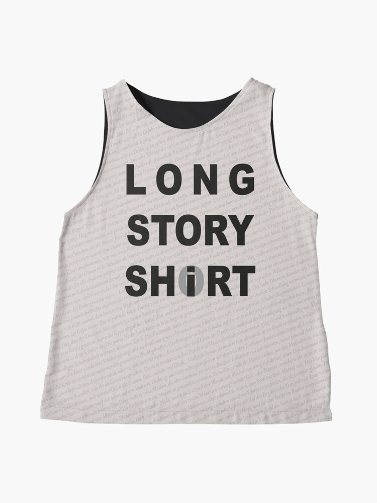 Alternate view of Long Story Short / Shirt Sleeveless Top