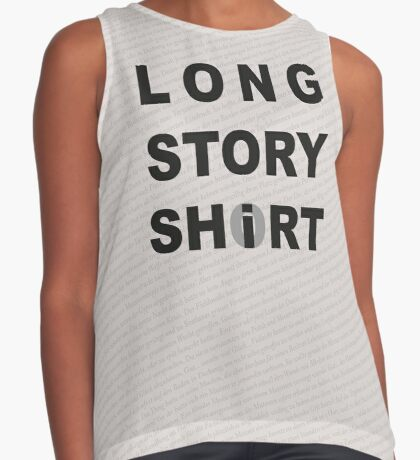Long Story Short / Shirt Contrast Tank