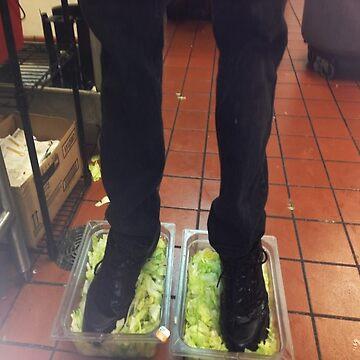 Foot Lettuce by grufalo