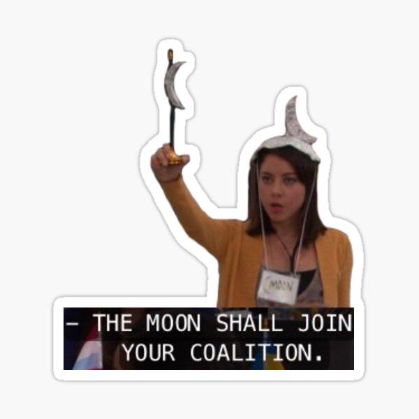 April Ludgate Quote Sticker
