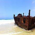 Shipwreck by NinaJoan