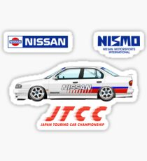 1993 JTCC Nissan Primera P10 Test car Sticker