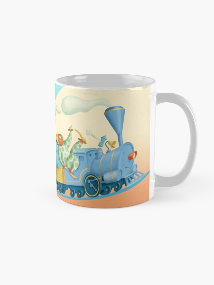 Alternate view of The Little Blue Engine Mug