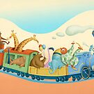 The Little Blue Engine by Tracy Sabin