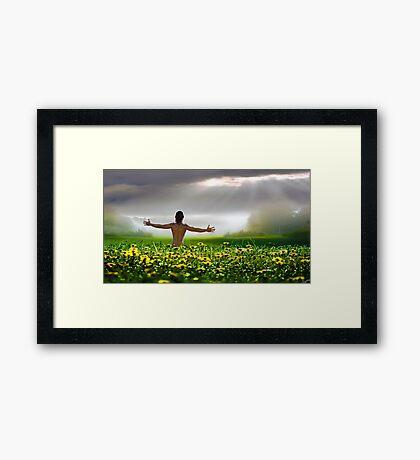 Sensual Morning Framed Print
