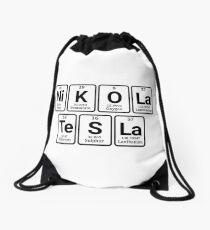 Nikola Tesla - periodic Drawstring Bag