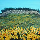 Broom Flowers, Capri by Carole Russell