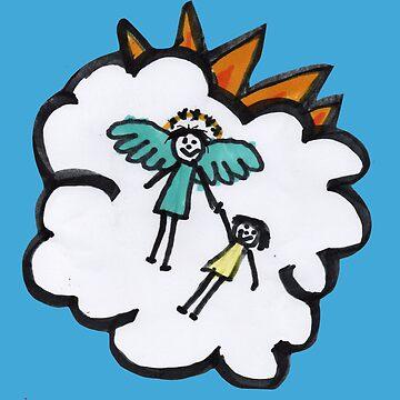 Mr Steve's Angel by PositiveAutism